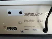 Nakamichi BX-100 Dolby System 2 Head Cassette Deck