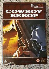 Cowboy Bebop Collection Box 2 DVD 2005 Fast Post Rare Region 2 Anime