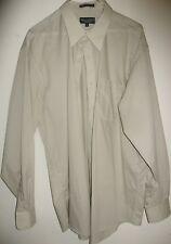 Kilbourne & Finch Long sleeve men's 55% cotton 45% polyester size 17-34/35
