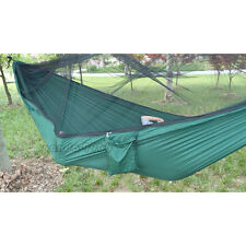 Double Person Parachute Outdoor Camping Hanging Hammock Bed With Mosquito Net