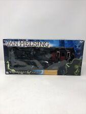 Van Helsing (2004 Movie) Stage Coach Figure Playset Blockbuster Video Damage Box