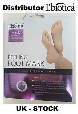 Feet pack Foot mask Pair of socks Exfoliating Peel Off Baby Lbiotica