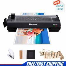 Blusmart A3 Laminator + 25 Laminating Pouches&Paper Cutter&Corner Rounder