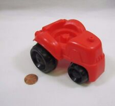 Fisher Price Little People LARGE RED FARM TRACTOR for FARMER FIELD Vehicle Barn