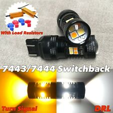 Switchback LED Rear turn signal DRL Parking white amber T20 7443 7444 FOR Suzuki