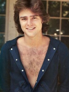 GREG EVIGAN PINUP CLIPPING FROM A MAGAZINE 80'S SEXY SHIRT OPEN