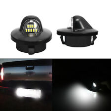 Pair LED License Plate Lights Lamps with 12 LEDs For 1983 - 2011 Ford Ranger