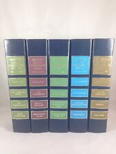 Readers Digest Condensed Books 1988 Lot of 5 Library Design Decor Book Set
