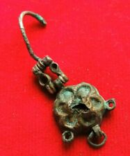 Ancient Bronze Earring Middle Ages