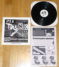 IT'S A PUNK THING.. v/a LP (1993) OOP screeching weasel.cap'n jazz.smoking popes