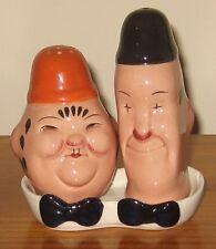 Molto da collezione & RARA Beswick Laurel & Hardy OLIERA SALE & PEPE - 575