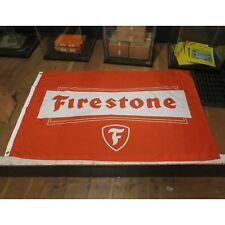 Firestone Tire Flag Banner Sign garage mancave hotrod ford chevy mustang nova v8