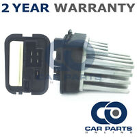 FOR VAUXHALL ZAFIRA 2.0 GSI TURBO PETROL (2001-2005) HEATER BLOWER FAN RESISTOR