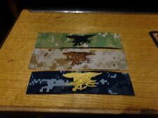 NWU DEVGRU Navy Seal Trident logo patch NWU AOR2 AOR1 Type 1 2 3   PATCH SET NEW