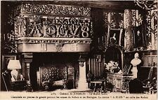 CPA   Cháteau de Josselin - Le Grand Salon - Cheminée en pierres de ...(431116)