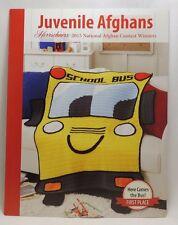 New Herrschners Juvenile Afghans 2015 Crochet Knit Award Winners Pattern Book
