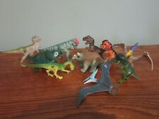 LOT OF 10 JURASSIC PARK LOST WORLD HATCHLING DINOSAURS LIGHTLY PLAYED BABY DINOS