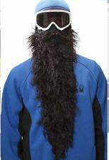 BEARDSKI ski mask Black Pearl - Long black beard Face Mask Skiing Snowboard