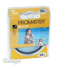 58mm Promaster 82A Lens Filter
