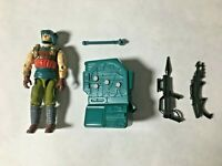 GI JOE ARAH Sonic Dodger v.2 1990 W/ Working Backpack And Accessories