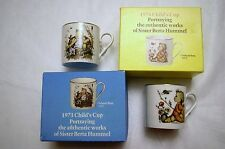 Vintage Schmid Bros. 1st & 2nd edition Child' Cup Portraying the Works of Hummel