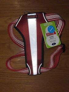 KONG XL Padded Harness Red