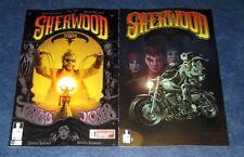 SHERWOOD TEXAS #1 1:10 variant & reg 1st print 12-GUAGE COMIC 2014 TX ROBIN HOOD