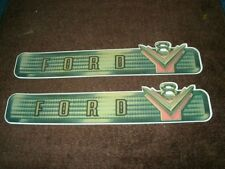 1954 FORD F-100 F-250 F-350 V8 VALVE COVER DECALS PR