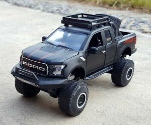 1:32 Raptor Pickup Truck Alloy Diecast Car Model Kids Boy Toy For Ford F-150 SVT