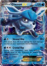 Pokemon XY Fates Collide Glaceon EX Ultra Rare Card 20/124