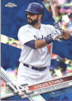 ANDRE ETHIER 2017 TOPPS CHROME SAPPHIRE EDITION #76 ONLY 250 MADE