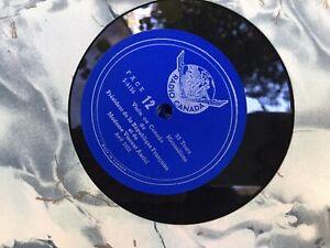 7 vinyles Visite au Canada  Président  République Française VINCENT AURIOL 1951