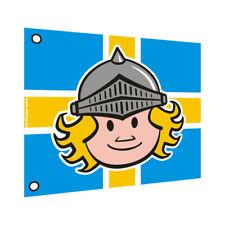 WICKEY Flagge Fahne 55x45cm Ritter Spielturm