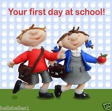"HOLY MACKEREL ""1ST DAY AT SCHOOL"" GREETING CARD ***FREE 1ST CLASS P&P**"