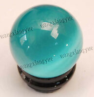 40mm Sky Blue Mexican Opal Sphere, Crystal Ball,Gemstone