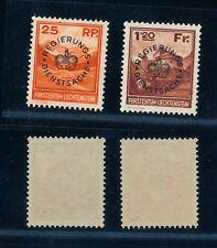 [56103] Liechtenstein 1933 Official stamps Mint - Perfect re-gummed