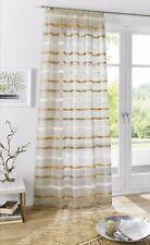 Dekogarnitur Gardine  Vorhang H 245cm Br je140cm  übergardine store