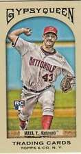 2011 Topps Gypsy Queen Mini #233 Yunesky Maya Nationals NM-MT