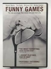 Funny Games - The Rules are simple. Pick a family and make them play (DVD) VG