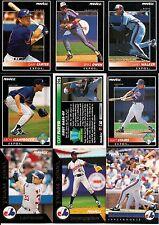 1992 Pinnacle Montreal Expos Master Team Set w/ Team 2000 & Rookies (27)