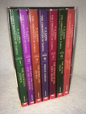 The Chronicles Of Narnia Book Set C.S Lewis Complete Boxed 1, 2, 3, 4, 5, 6, 7