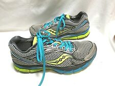 Saucony Triumph 9 Gray Blue Running Shoes Womens Size 9.5 VGC