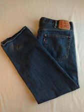 Mens Levis 505 Straight Leg Denim Blue Jeans W40 x L30