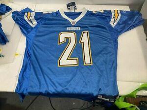 SD San Diego Chargers LaDainian Tomlinson NFL Reebok Jersey Men's Size XXL 2XL