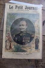 Le petit journal illustré N°225 1895 Général de Négrier Gendarme et braconnier 1