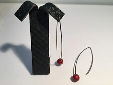 New expo - Pendientes EarRings SEDISTRI - Bola Roja - Red Ball