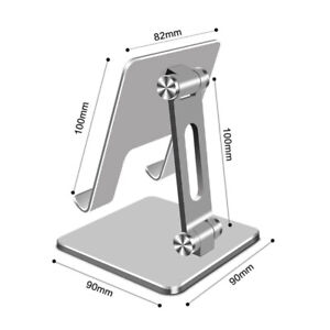 Aluminum Alloy Holder Desktop Folding Phone Tablet Stand For iPad Pro iPhone 12