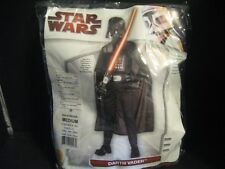 Darth Vader Star Wars Costume Medium 8-10 Cosplay Rubies Deluxe  4-pieces Mask