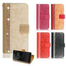 For Sony Xperia X XA XZ Phones - Leather Wallet Stand Magnetic Flip Case Cover