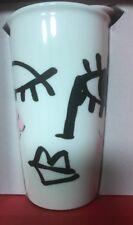 Starbucks 2014 Dot Collection Winking Eye Face Tumbler NEW in Original Red Box!